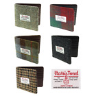 New Mens Fashion Harris Tweed Mull Classic Gents Wallet in Range of Tartans