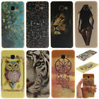 samsung h5 - Colorful Pattern Rubber Soft TPU Back Case Silicone Gel Cover For Samsung Galaxy