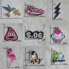 20 kind style patch hot melt adhesive applique embroidery patch DIY accessory