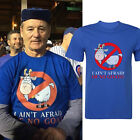 I Ain't Afraid of No Goat  Casual jersey T Shirt Ghost Buster Funny Men T shirt