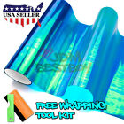 *Galaxy Chameleon Neo Chrome Dark Blue Headlight Taillight Fog Light Tint Film