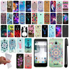For Alcatel Dawn 5027/ Streak/ Ideal 4060A Design TPU SILICONE Case Cover + Pen