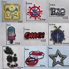mixture sell fashion hot melt adhesive applique embroidery patch DIY accessory