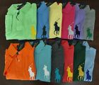 NWT Ralph Lauren Men's S/S CLASSIC FIT Big Pony Mesh Polo Shirt S M L XL 2XL NEW