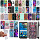 "For Alcatel POP 4 5"" Cute Design TPU SILICONE Soft Skin Case Phone Cover + Pen"