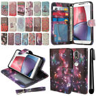 "For Motorola Moto G4/ G4 Plus 5.5"" XT1625 XT1644 Flip Wallet Case Cover + Pen"