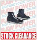 TCX X-Street Denim Motorcycle Urban Boots 45 Blue RRP: £119.99