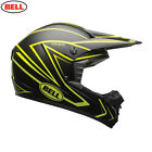 Bell Sx-1 Motocross Enduro Quad Offroad Trail Riding Helmet Whip Black Hi-vis