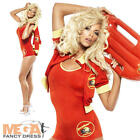 Baywatch Ladies 1990s Fancy Dress TV Adults Celebrity Lifeguard Costume Outfit