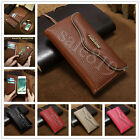 Genuine Leather Removable Magnetic Wallet Case Cover For Apple iPhone 6s 7 Plus