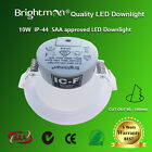 10W DIMMABLE LED DOWNLIGHT KIT WARM / NATURE WHITE 90MM CUTOUT IC-F IP44 SAA
