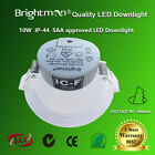 10W DIMMABLE LED DOWNLIGHT KIT 90MM CUTOUT IC-F IP44 SAA Nature / Warm White