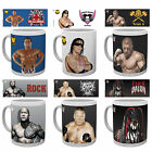 Official WWE Ceramic MUG 10oz (& Gift Box) Choice of Wrestler (New & Legends)