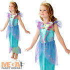 Ariel Girls Fancy Dress Disney Princess Little Mermaid Book Day Childs Costume
