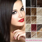 14Colors Full Head 7PCS Clip in 100% Remy Human Hair Extensions 14inch-24inch