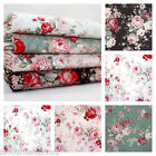 VERITY 2 - VINTAGE ROSE FLORAL 100% COTTON FABRIC roses patchwork fashion