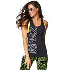 Zumba Tied Up Tank Top - Back to Black Z1T01116