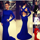 Women Sexy Long Maxi Dress Evening Party Club Formal Bridesmaid Prom Gown Dress