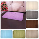 memory foam bath mat bathroom rug horizontal lines Non -slip bath mats available
