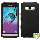 For Samsung Galaxy J3 J320 2016 Hybrid TUFF IMPACT Phone Case Hard Rugged Cover