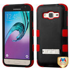 For Samsung Galaxy J3 J320 2016 Hybrid TUFF IMPACT Phone Case Hard Rugged Cover <br/> IN-STOCK - FREE SHIPPING FROM THE USA - BEST SELLER!