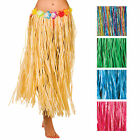Hawaiian Grass Hula Style Skirt 80cm Long Fancy Dress Luau Summer Beach Party