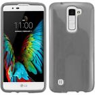 For LG K10 Premier LTE TPU Rubber Flexible Phone Skin Case Cover <br/> IN-STOCK - FREE SHIPPING FROM THE USA - BEST SELLER!