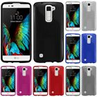 For LG K10 Premier LTE TPU Rubber Flexible Phone Skin Case Cover