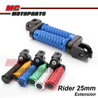 """M-Grip CNC 1"""" Adjustable Riser Front FootPegs for Yamaha YZF R6 03 04 05 07-15"""