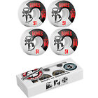Bones Skateboard Wheels STF V4 Standard White with INDEPENDENT ABEC 5 Bearings
