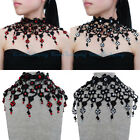 Fashion Jewelry Lace Victoria Collar Punk Choker Statement Bib Pendant Necklace