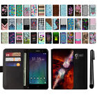 "For Alcatel TRU 5065 Stellar Pop 3 5"" Design Flip Wallet POUCH Case Cover + Pen"