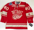 HENRIK ZETTERBERG 2014 WINTER CLASSIC DETROIT RED WINGS RBK PREMIER JERSEY C
