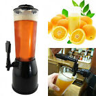 2.5LTR TABLETOP BEVERAGE DRINK ICE CORE DISPENSER COLD JUICE BEER COCKTAIL PARTY