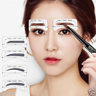4 Styles Eyebrow Make Up Shaping DIY Beauty Tools Korean Thrush Stencil Card New