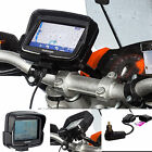 Motorcycle M6 M8 M10 Clamp Mount + Din Hella Charger for TomTom Rider v5 4.3""