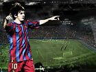 LIONEL MESSI FRAMED CANVAS ART PRINT A0 A1 A2