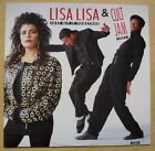 """LISA LISA AND CULT JAM JUST GIT IT TOGETHER 12"""" 3 TRACKS WITH P/S UK"""