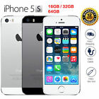New in Sealed Box Factory Unlocked APPLE iPhone 5S Gold Gray Silver Phone B04E--