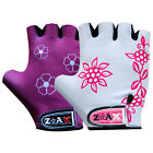 Junior Girls & Ladies Cycling Padded Gloves Bicycle Cycle BMX Fingerless Gloves
