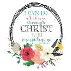 I Can do All Things Thru Christ  Tshirt   Sizes/Colors