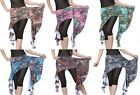 Brand New Beautiful Belly Dance Peacock Hip Scarf Belt 6 Colors Free Shipping