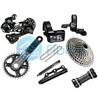 New 2017 Shimano Deore XT Di2 M8050 M8000 11-speed Full Group Groupset 170/175mm