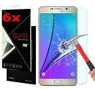 6x 9H Tempered Glass Film Screen Protector Cover for Samsung GALAXY J1-7 S3-S6