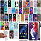 For BLU Studio XL Cute Design TPU SILICONE Soft Skin Case Phone Cover + Pen