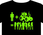 Tractor - T shirt up to 5XL occupation tools ploughing champs deere harvester
