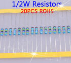 1/2W Metal Film Resistors (ohm)1% ROHS 50pcs