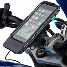 Motorcycle Moped Helix Strap 21-40mm Bike Mount + Tough Case for Apple Iphone 7