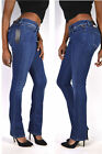REPLAY Jeans WEX689 LUZ Slim Bootcut Jeans 93a medium blue NEW