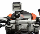Motorcycle M6 M8 M10 Clamp Bolt Bike Mount + Flat Adapter for Drift Ghost Camera
